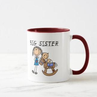 T-shirts et cadeaux de frère de bébé de grande tasses