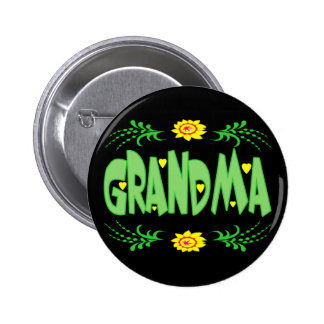T-shirts et cadeaux de grand-maman pour elle badge