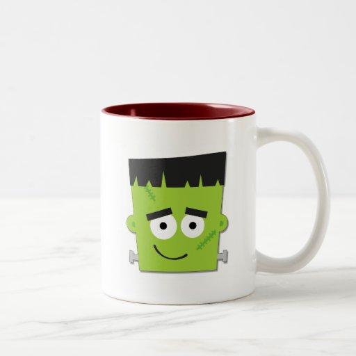T-shirts et cadeaux de Halloween Frankenstein Tasse À Café