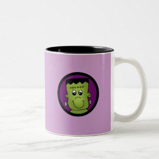T-shirts et cadeaux de Halloween Frankie Mug Bicolore