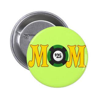 T-shirts et cadeaux de jeu pour la maman badge rond 5 cm