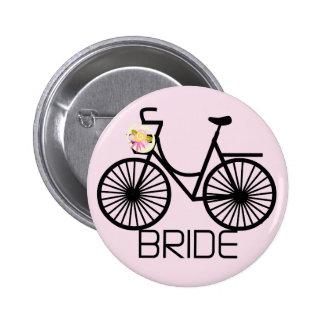 T-shirts et cadeaux de jeune mariée de bicyclette pin's