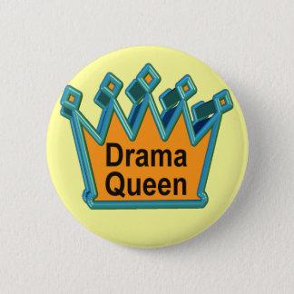 T-shirts et cadeaux de la Reine de drame pour elle Badge