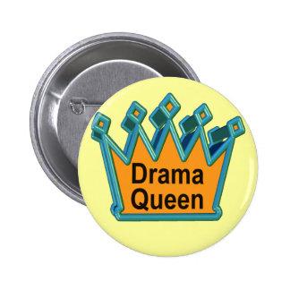 T-shirts et cadeaux de la Reine de drame pour elle Badge Avec Épingle