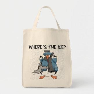 T-shirts et cadeaux de patinage de glace de sac