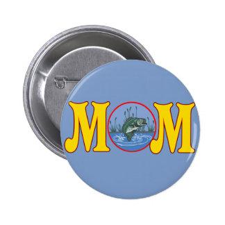 T-shirts et cadeaux de pêche pour la maman badge