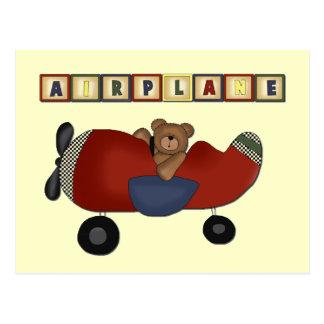 T-shirts et cadeaux de pilote d'ours de nounours carte postale