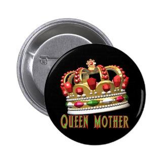 T-shirts et cadeaux de reine mère pour elle badge