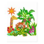 T-shirts et cadeaux de safari cartes postales