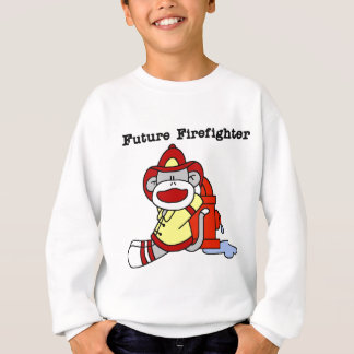 T-shirts et cadeaux de sapeur-pompier de singe de
