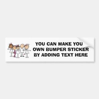 T-shirts et cadeaux de semaine d'infirmières autocollant de voiture