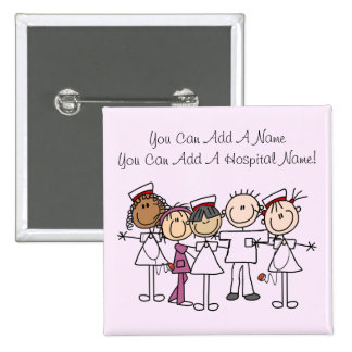 T-shirts et cadeaux de semaine d'infirmières pin's avec agrafe