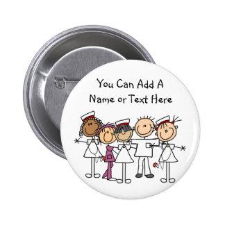 T-shirts et cadeaux de semaine d'infirmières badge rond 5 cm