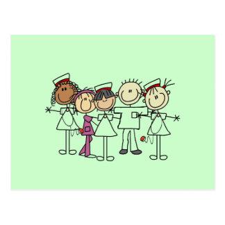 T-shirts et cadeaux de semaine d'infirmières carte postale