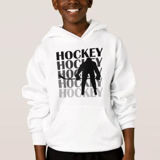 T-shirts et cadeaux de silhouette d'hockey