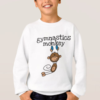 T-shirts et cadeaux de singe de gymnastique