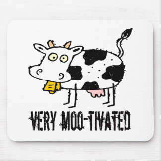 T-shirts et cadeaux de vache à enfants tapis de souris