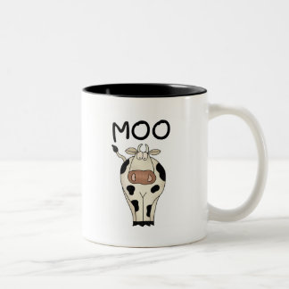T-shirts et cadeaux de vache à MOO Mug Bicolore