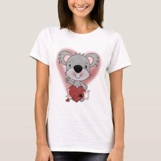 T-shirts et cadeaux de Valentine de koala