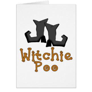 T-shirts et cadeaux de Witchie Poo Carte De Vœux