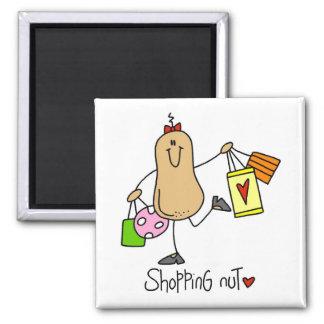 T-shirts et cadeaux d'écrou d'achats magnet carré