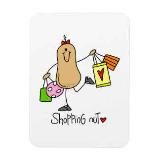 T-shirts et cadeaux d'écrou d'achats magnets en rectangle