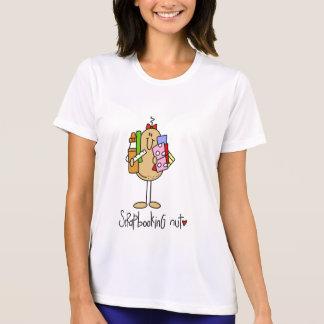 T-shirts et cadeaux d'écrou de Scrapbooking