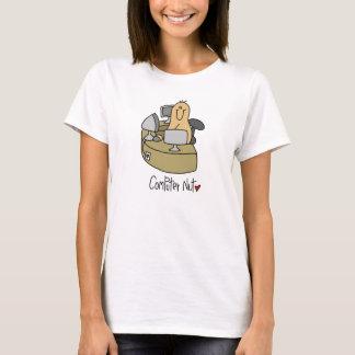 T-shirts et cadeaux d'écrou d'ordinateur