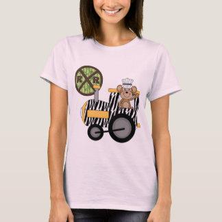 T-shirts et cadeaux d'ingénieur de train de singe