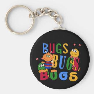 T-shirts et cadeaux d'insectes d'insectes d'insect porte-clé rond