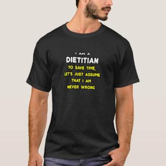 T-shirts et cadeaux drôles de diététicien