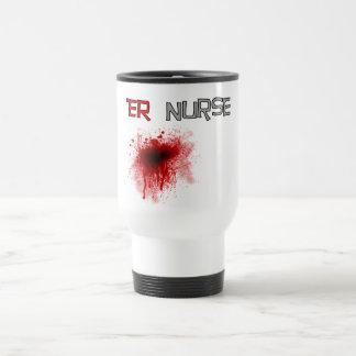 T-shirts et cadeaux drôles d'infirmière d'ER Tasse À Café