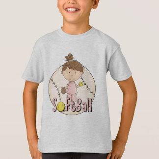 T-shirts et cadeaux du base-ball de filles