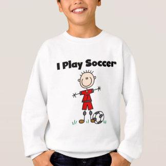 T-shirts et cadeaux du football de jeu du garçon I