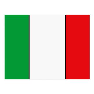 T-shirts et cadeaux italiens de drapeau carte postale