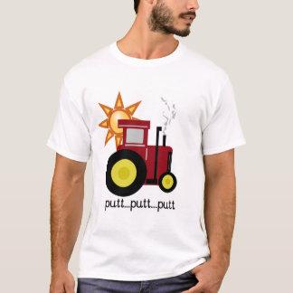 T-shirts et cadeaux rouges de tracteur de ferme