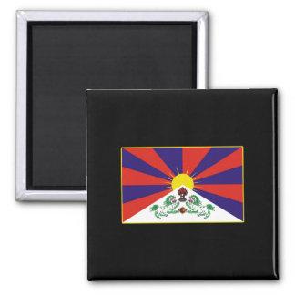 T-shirts et cadeaux tibétains de drapeau aimants pour réfrigérateur