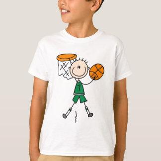 T-shirts et cadeaux trempants de basket-ball de