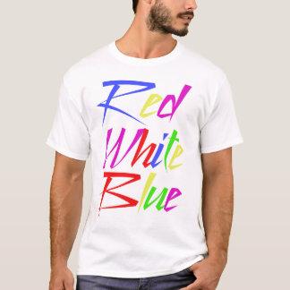 T-shirts faux Trippy de couleurs