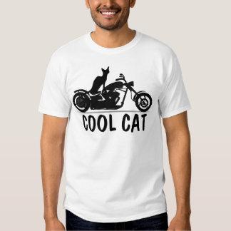 T-shirts FRAIS de motard de CAT, moto