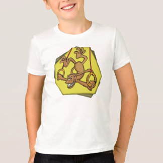 T-shirts gymnastique de singe