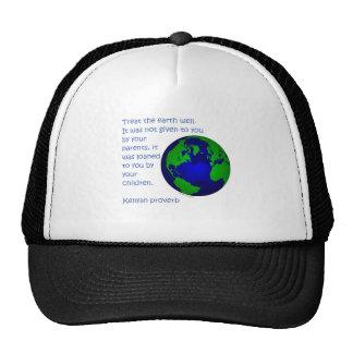 T-shirts kenyans et cadeaux de jour de la terre de casquettes