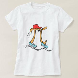 T-shirts longs de pi - type drôle de pi