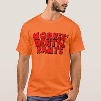 T-shirts mental des harangues de Morris