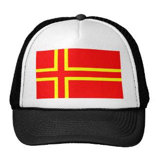 T-shirts normand de drapeau casquettes