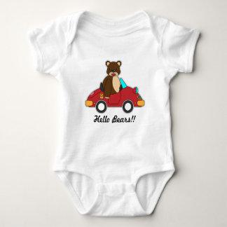 T-shirts pour le bébé, image d'ours
