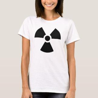 T-shirts radioactif de symbole