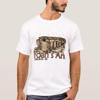 T-shirts tonal de rayure de dames de l'arche de