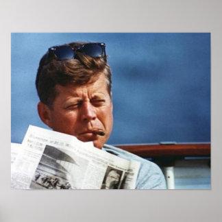 Tabagisme de John F. Kennedy Poster