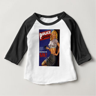 Tabagisme de modèle de forme physique t-shirt pour bébé